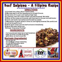 Beef Salpicao - A Filipino Recipe