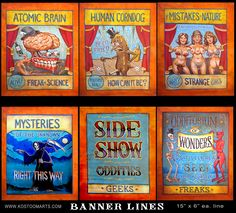 I have been painting for more than 40 years, and have done everything from landscapes, to portraits to historic scenes. Circus Poster, Circus Circus, Circus Theme, Holidays Halloween, Halloween Themes, Halloween Party, Circus Birthday, Birthday Party Themes, Vintage Circus Costume