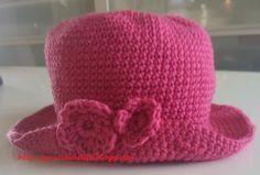 Heklet baby hatt :) Una gorrita en crochèt :) (GRACIELASLIFE)