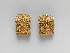 Этрусские золотые серёжки, VI век до н.э.