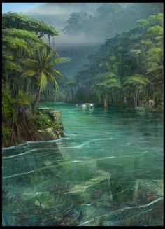 amazon rainforest art - Google Search