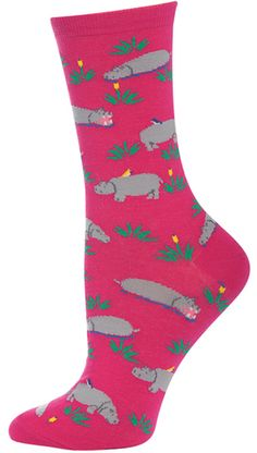 I love hippo socks.... need to find these