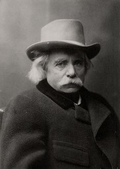 [Edvard Grieg with hat and coat] by Bergen Public Library, via Flickr