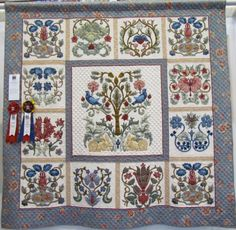 Appliqué Quilts, William Morris, Baltimore, Applique, Blanket, Gallery, Roof Rack, Blankets, Cover