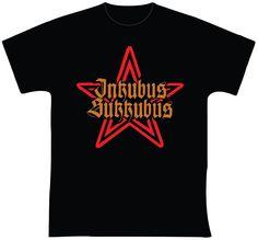"""Inkubus Sukkubus R$ 35,00 + frete Todas as cores Personalizamos e estampamos a sua ideia: imagem, frase ou logo preferido. Arte final. Telas sob encomenda. Estampas de/em camisas masculinas e femininas (e outros materiais). Fornecemos as camisas ou estampamos a sua própria. Envie a sua ideia ou escolha uma das """"nossas"""".... Blog: http://knupsilk.blogspot.com.br/ Pagina facebook: https://www.facebook.com/pages/KnupSilk-EstampariaSerigrafia/827832813899935?pnref=lhc https://twitter.com/KnupSilk"""
