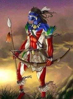 Puertorican warrior