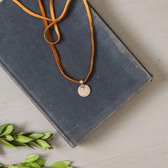 Antique Coins on Tan Deerskin| Magnolia Market | My Jewelry | Joanna Gaines | Waco, TX