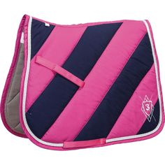 For the Pink & Navy lovers, super thick and will wick away the moisture and sweat away from the back and keep your horse cool and comfortable http://www.equusemporium.com.au/horse/saddle-blankets/l-polo-team-saddle-pad