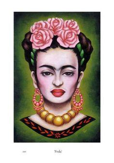 Frida Kahlo Inspired Art:
