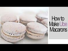 How to Make Ube Macarons ♡