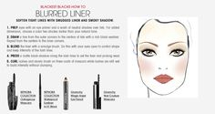 Fall Trend: Blackest Blacks Blurred Liner HOW TO. #Sephora #ColorVision