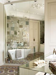Reflejos con mosaico vitreo by Barasona.  Reflexionts with mosaic vitreo by Barasona