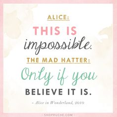 Alice In Wonderland Quotes - Quote #12 - Page 1 - Wattpad