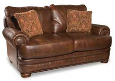 Stanton Leather Loveseat $1244 at American Furniture Warehouse. Sofa, chair and ottoman available