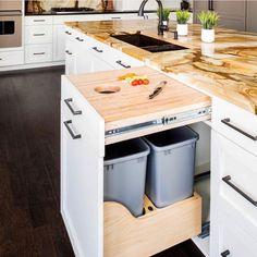 ideas diy kitchen countertops laminate islands for 2019 Diy Kitchen Island, Farmhouse Sink Kitchen, Diy Kitchen Cabinets, Kitchen Cabinet Doors, Kitchen Countertops, New Kitchen, Kitchen Ideas, Awesome Kitchen, Kitchen Remodeling