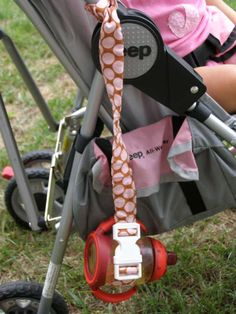 baby leashes, for more than just pacifiers! Great idea! This link doesn't actually work, but the picture is worth keeping.