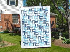 wedding quilt2 by Susan/Homespun Quilts, via Flickr Signature Quilts, Easy Crochet, Wedding Quilts, Outdoor Structures, Quilting Ideas, Simple, Pattern, Inspiration, Sewing