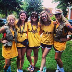 University of South Carolina, Epsilon Kappa Chapter, on Bid Day! #KKG #KKG1870