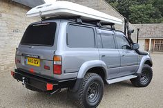You can't beat this fully kitted out, overland-ready Toyota Landcruiser. 4.2L Manual Transmission, Turbo Diesel. Comes complete with Aftermarket Steel bumpers, 12.5i SR TALON Super winch, Safari Snorkel, Columbus rooftop tent and a range of tried and tested camping essentials. All in superb condition.Just pack your bags (even those are included!) and drive off into the sunset. Full Spec: Centre, rear and front locking Diffs. 2 x Odyssey batteries. Koni Extreme adjustable Rear HD Shocks. Old…