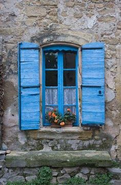 Blue shutters ~ Provence ~ France