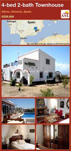 4-bed 2-bath Townhouse in Albox, Almeria, Spain ►€229,500 #PropertyForSaleInSpain