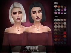 Farah Hair: DOWNLOAD SIMS 4