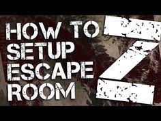 Escape Room Z | Printable Party Kit | Can you escape?