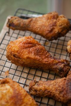 Buttermilk Brined Southern Fried Chicken Recipe