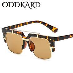 397facf90 ODDKARD DTC Series Smart Casual Sunglasses For Men and Women Brand Designer  Semi-Rimless Square Sun Glasses Oculos de sol UV400 OK23179