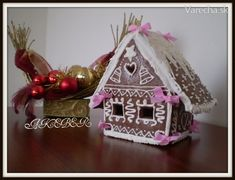 Rum, Gingerbread, Christmas Ornaments, Holiday Decor, Food, Cakes, Home Decor, Decoration Home, Cake Makers
