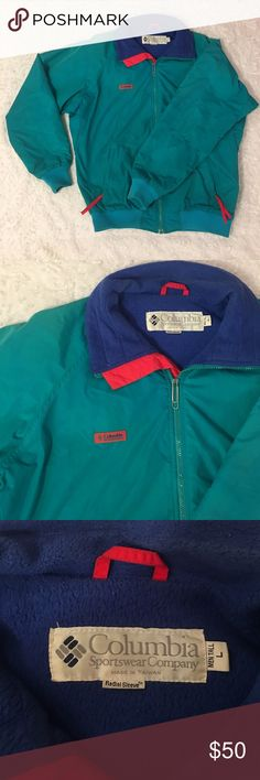 Vintage Columbia Sportswear Company Jacket Large Vintage Columbia Sportswear Company Jacket. Men's Large. Broken Zipper. Over All Good Pre Owned Condition. Columbia Jackets & Coats