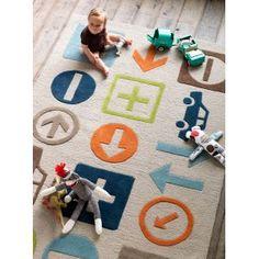 How cute for a little boys room!