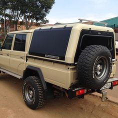 RSI Steel Canopy Hard Top Double Cab Truck *Ford Ranger