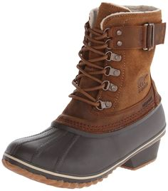 Sorel Women's Out N About Leather Waterproof Boot *** You can find out more details at the link of the image.