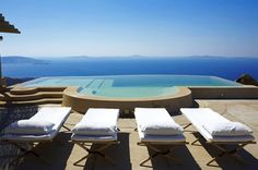 Located hillside in a unique wind-sheltered position in the Fanari area, The Eagle's Nest enjoys one of the most panoramic and beautiful views of Mykonos. It overlooks the Aegean archipelago including the island of Tinos, Syros and Delos, and of course the magical sunsets. The property is spread over different natural terraces connected by several …