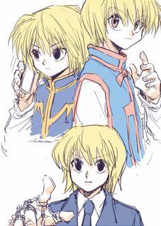 kurapika~hxh~hunter x hunter Hisoka, Killua, Anime Guys, Manga Anime, The Original Avengers, Ging Freecss, Yoshihiro Togashi, Hxh Characters, Hunter X Hunter