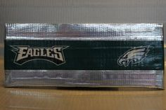 Duct Tape Wallet (Bi-Fold) - Philadelphia Eagles, $15.  We are also on Etsy at:  www.junorduck.etsy.com.