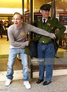 Jason Donovan during Genes For Jeans Charity Day - Photocall at Harrods in London, Great Britain.