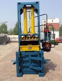 baler Mainly used for wast paper, and clothing, carton it can also to be used for compression packing of various materials including velveteen, cashmere, cotton seeds, towels, blankets, cloth, qults, bags and other soft materials.