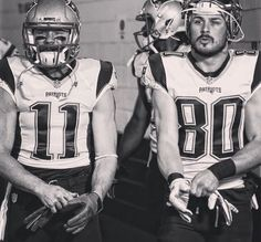 Julian Edelman and Danny Amendola