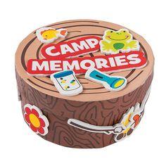 Camp+Memory+Box+Craft+Kit+-+OrientalTrading.com