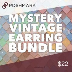 Vintage Mystery Earring Bundle 🔹3 pairs of vintage earrings!🔹They are all clip-on or screw-backs.🔹Such a great deal for 3 pieces just because I don't feel like taking photos!🔹They are all in great vintage condition and are all pretty & girly.🔹No trades/PayPal🔹Worth over $40 Vintage Jewelry Earrings
