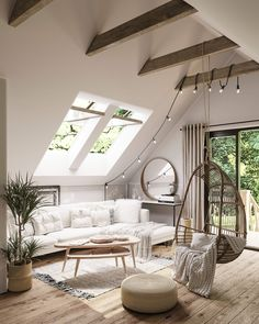 Little Corner at VWArtclub Home Room Design, Home Interior Design, Cozy Living Rooms, Home And Living, Loft Room, Aesthetic Rooms, Dream Rooms, My New Room, Apartment Design