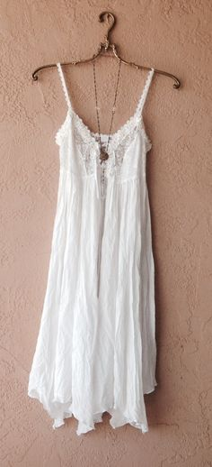 one size maxi lace slip little lace up ribbons in front