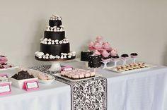 Girly Woodland Dessert Table | Flickr - Photo Sharing! on Wanelo