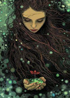 Y yo soy esa mujer la que no se arrepientel de nada. La que acepta su dualidad. La eterna enamorada de la vida. La que nunca se encuentra sola. La que se atreve a soltar. La que es fiel a ella misma. La que honra lo femenino y masculino. La que sólo desea libertad. Libertad para decidir. Para volar. Para soñar. Para ser ella misma. Cinthya. La Intuicion de las Brujas, facebook
