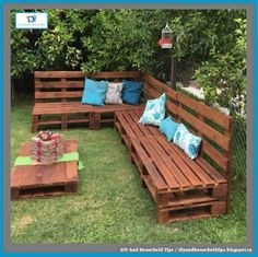 DIY And Household Tips: Outdoor Pallet Sitting