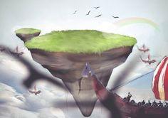 Fairytopia flying land