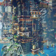 Minecraft Epic Builds, Minecraft Statues, Minecraft Structures, Minecraft Houses Survival, Minecraft Funny, Minecraft Plans, Amazing Minecraft, Minecraft Tutorial, Minecraft Blueprints