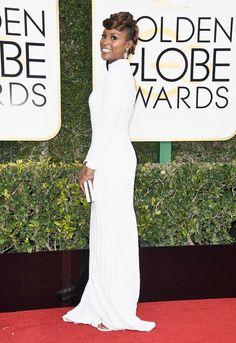 Issa Rae Les meilleurs (et les pires!) looks du tapis rouge des Golden Globes 2017